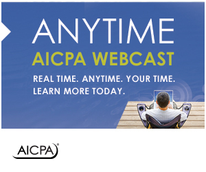 AICPA Webcasts