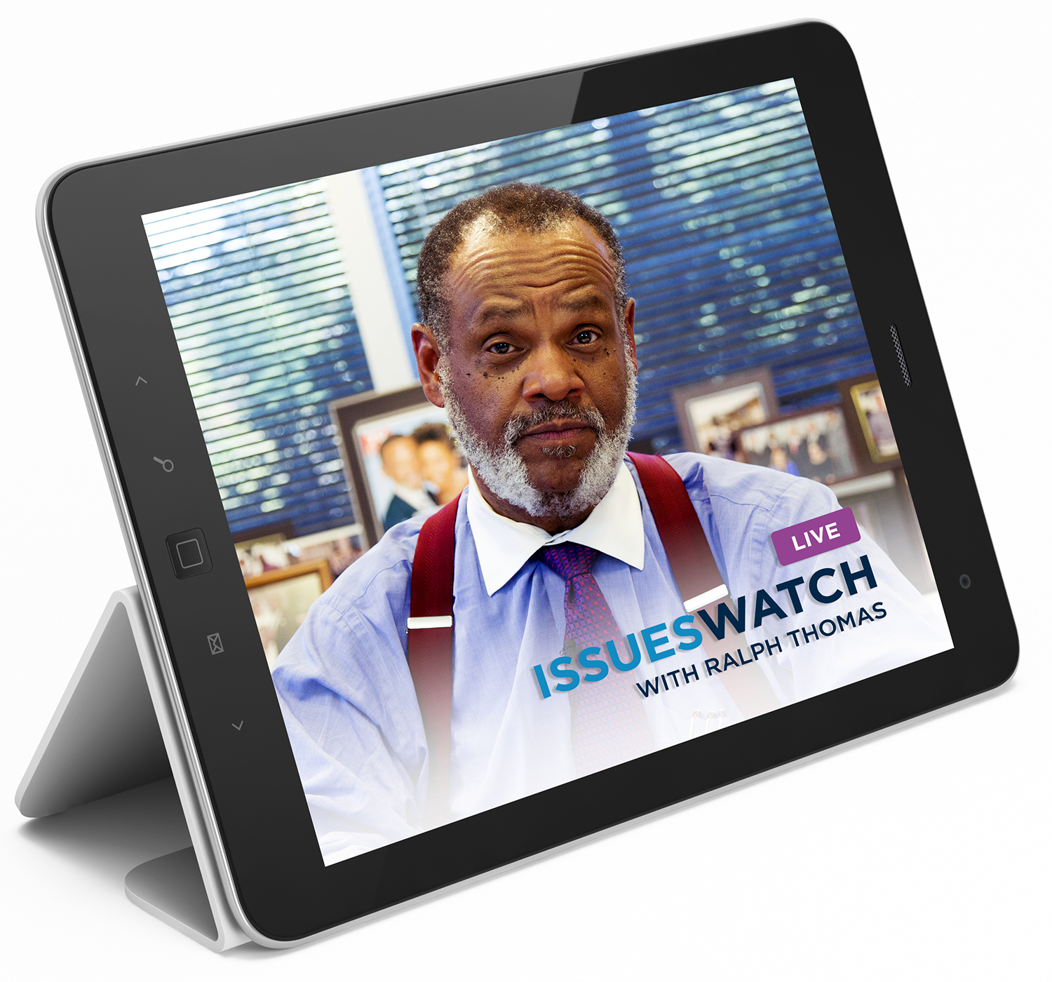 IssuesWatch on tablet