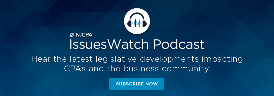 IssuesWatch Podcast - njcpa.org/podcast