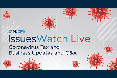 Coronavirus Tax and Business Update and Q&A - IssuesWatch LIVE - March 27, 2020